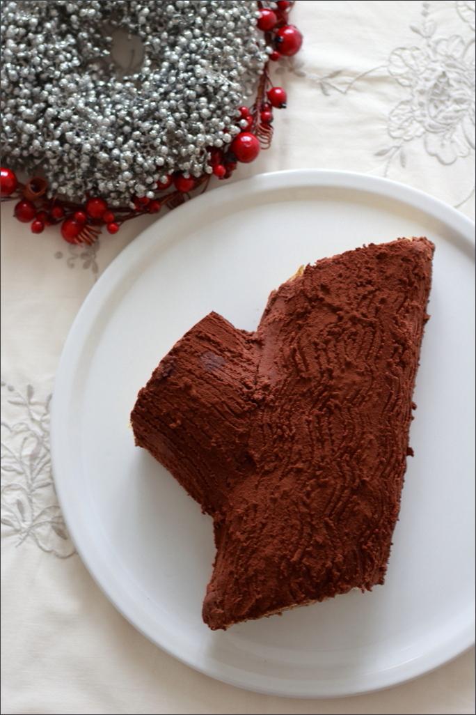 Tronchetto-di-Natale-con-ricotta-e-crema-speculoos