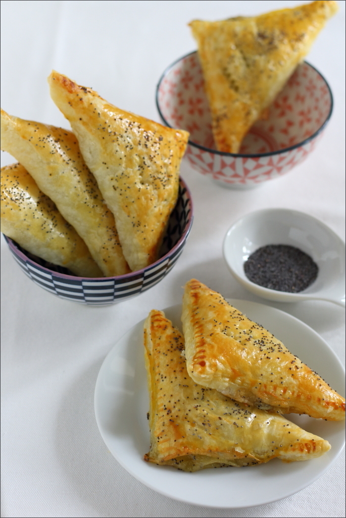 Triangoli-di-pasta-sfoglia-con-zucchine-e-gorgonzola