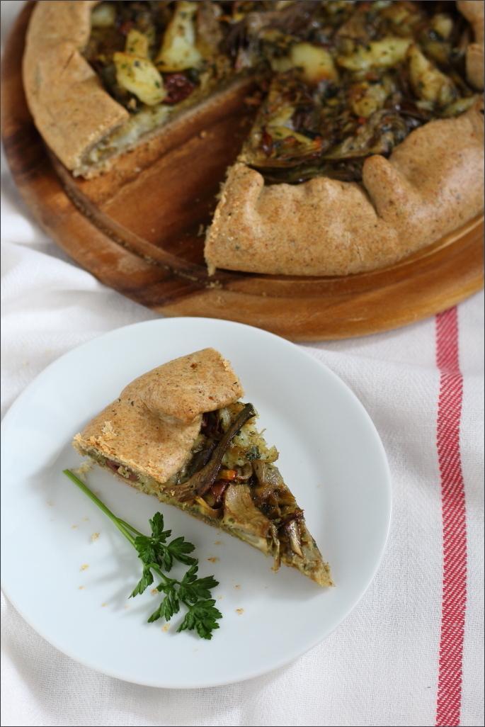 Torta-salata-con-carciofi-e-baccalà