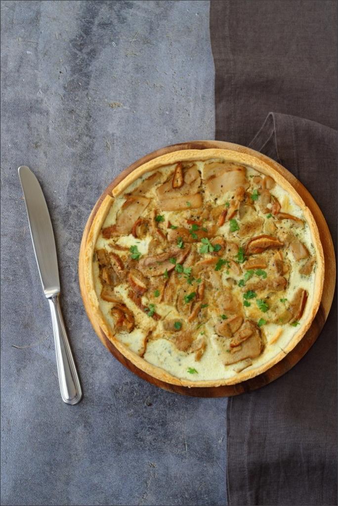 Torta-salata-ai-funghi-porcini
