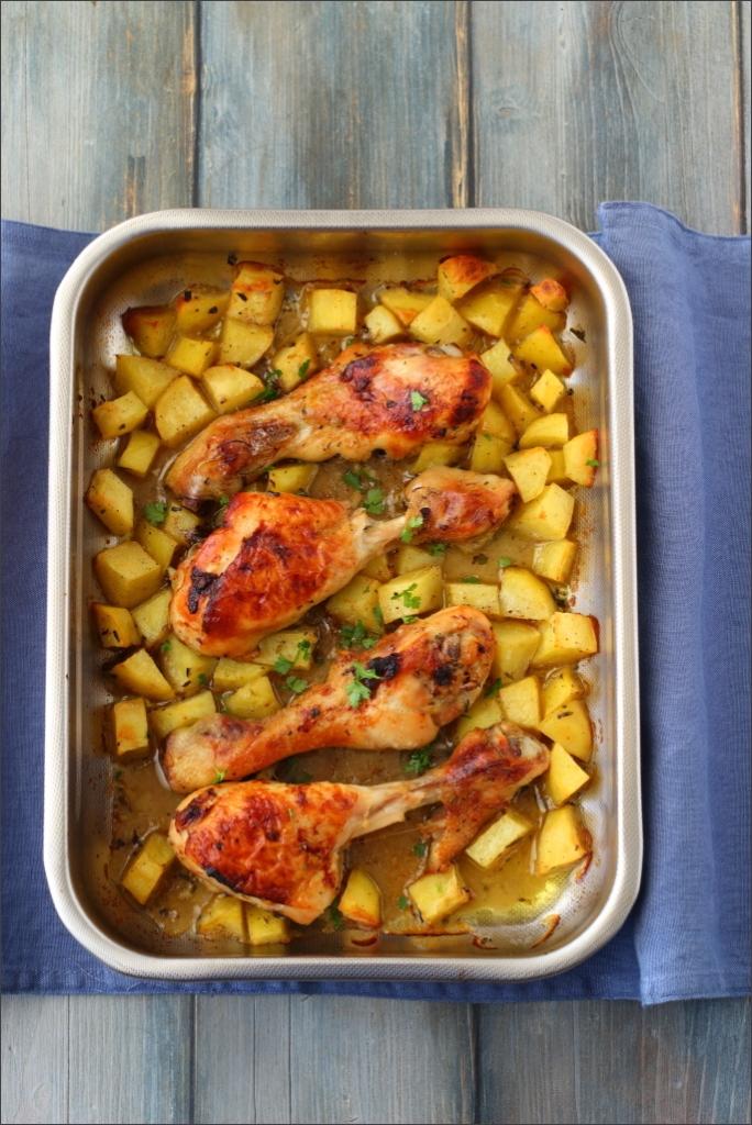 Pollo-con-miele-limone-ed-erbe-provenzali