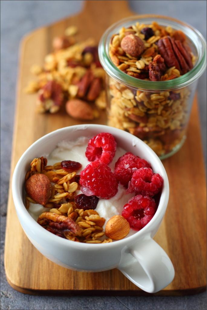 Granola-con-frutti-di-bosco